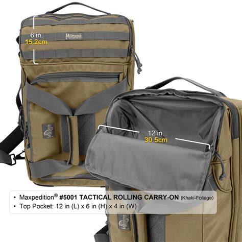 maxpedition carry on maxpedition tactical rolling carry on luggage