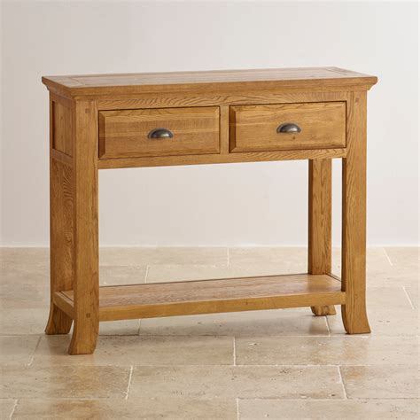 console land oak furniture land console table coalacre
