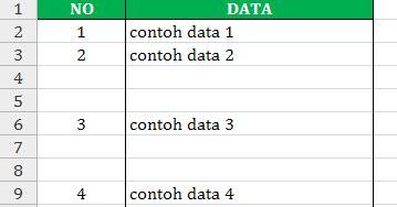 cara membuat daftar isi otomatis di excel cara membuat nomor otomatis pada excel exist online