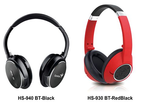 Headset Bluetooth Genius genius introduces its range of bluetooth headsets