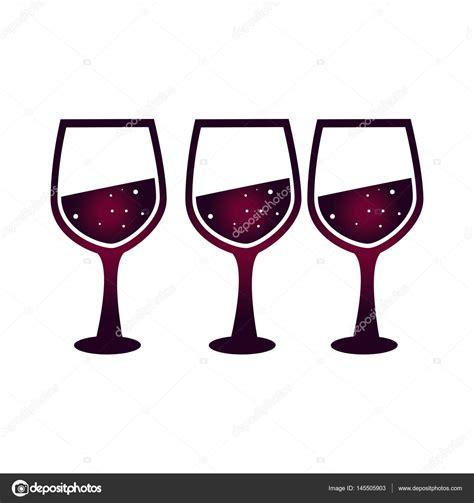 immagini bicchieri brindisi brindisi con bicchieri di vino vettoriali stock