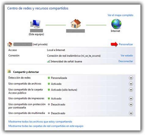 Crear Una Configuravion De Mba by P 250 Blica O Privada En La Configuraci 243 N De Windows