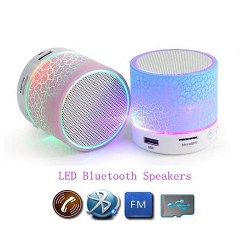 Mini Bluetooth Speaker Thinkbox led portable wireless bluetooth mini speaker support usb