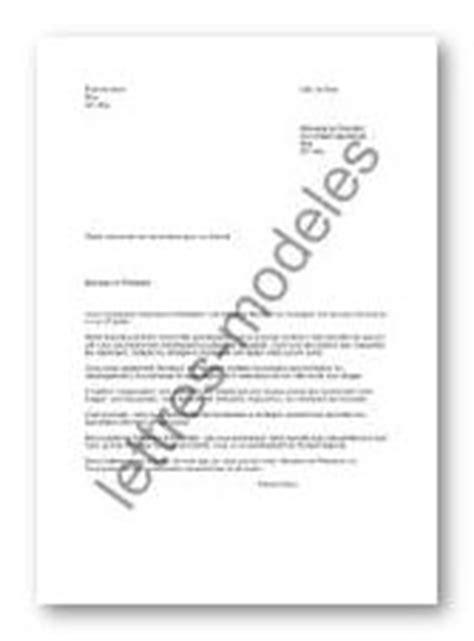 Lettre Type Demande Visa Court Séjour application letter sle modele de lettre pour une