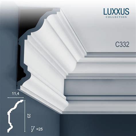 decken stuck stuckleiste dekor profil orac decor c332 luxxus eckleiste