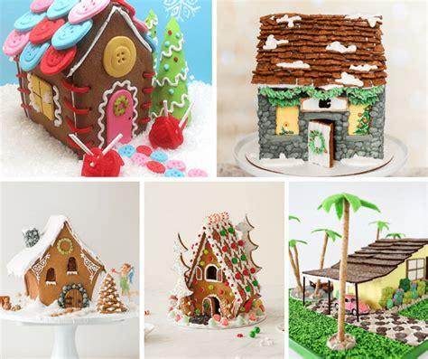 Gingerbread House Ideas by A Roundup Of 25 Gingerbread House Ideas And Tips