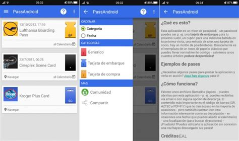 pkpass android passbook para android una relaci 243 n complicada