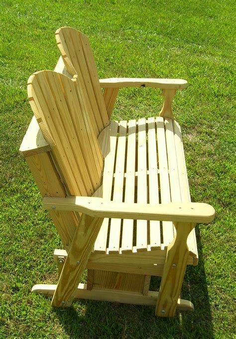 adirondack glider bench plans woodworking projects