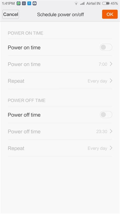 Custom Xiaomi Redmi 3 Pro Turn Back Crime Logo Z3845 Hardca miui 6 update brings scheduled power on to the
