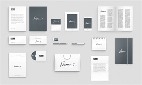 Corporate Identity Photoshop Mock Up Psd Branding Package Template
