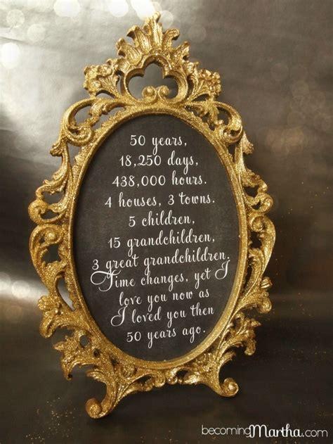 gold anniversary themes 50th wedding anniversary table ideas