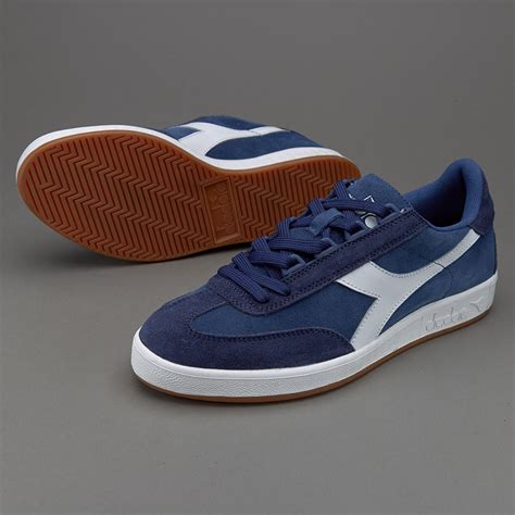 Sepatu Merk Diadora sepatu sneakers diadora b original saltire navy white