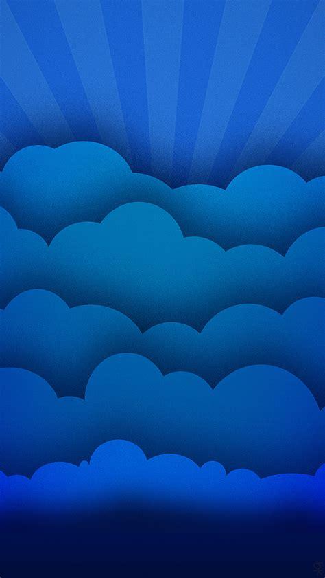 wallpaper blue cloud blue cloud rays iphone 5 wallpaper 640x1136
