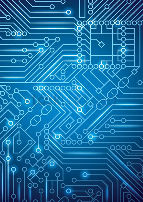 circuit design circuit board design vector image 1648205 stockunlimited