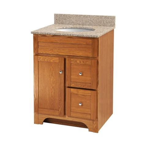 oak bathroom vanities worthington 24 inch oak bathroom vanity burroughs