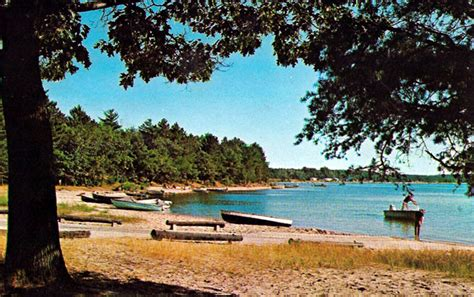 boat launch otsego lake ny gaylord high school 1965 postcards 1960 s