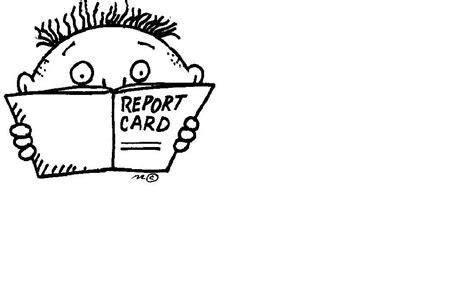 Report Card Clip