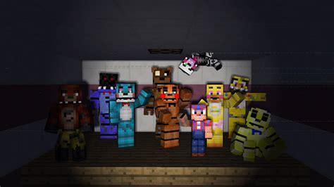 Minecraft fnaf 2 freddy fazbear s pizza tour built bye me youtube