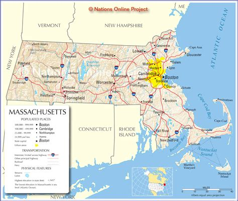 mass map massachusetts road map massachusetts mappery