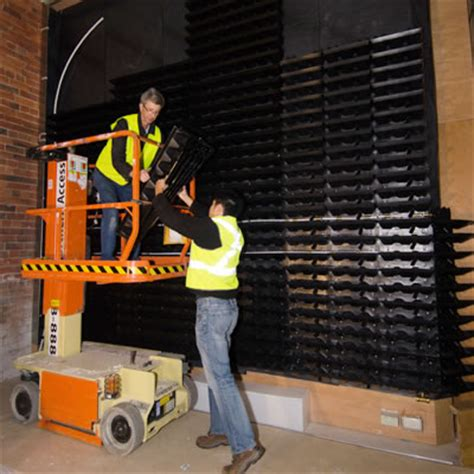 vertical garden construction tropical plant rentals
