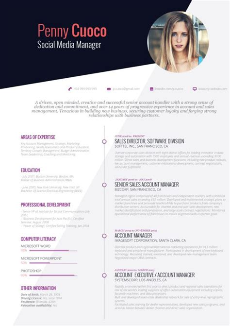 cv template ready to fill in beautiful resume templates resume template design best 25