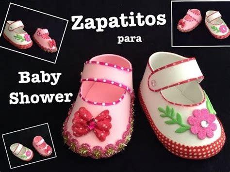 zpatitos para baby shower en goma eva las manualidades zapatitos videolike