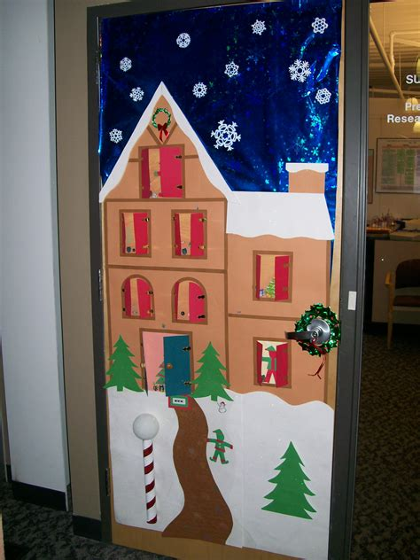 christmas decorations for door contest classroom door decorating contest heard from today so we had lunch always a