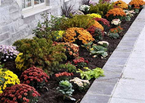 Fall Flower Garden Ideas 7 Curb Appeal Tips For Fall Hgtv
