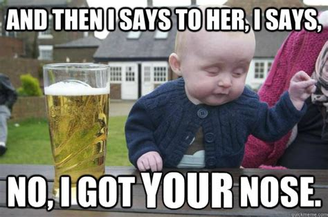 Meme Drunk Baby - 20 hilarious funny cute baby meme on internet reckon talk