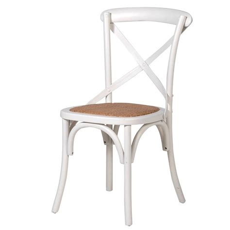 Chaise Bistrot Cannée Bois by Chaise Bistrot En Bois Blanc