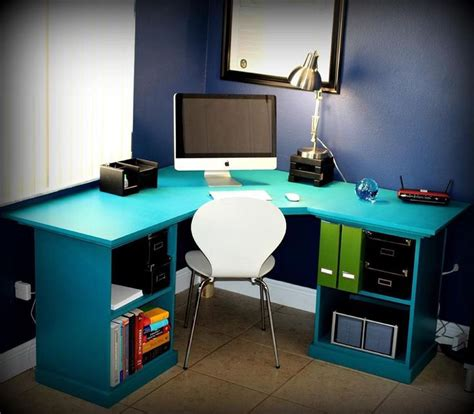 Corner Desk Plans Best 25 Desk Plans Ideas On Pinterest Build A Desk Diy Wood Desk And Simple Desk