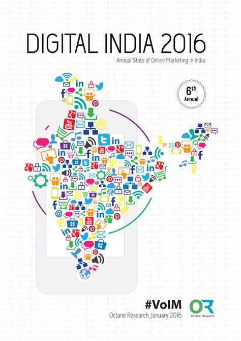 Digital Marketing In annual report digital india