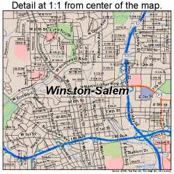 winston salem carolina map 3775000