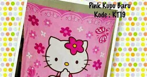 Selimut Bulu Hello Pink selimut hello murah grosir ecer bulu halus kupu pink