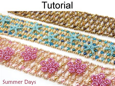 net stitch beading beading tutorial pattern netting stitch starfish
