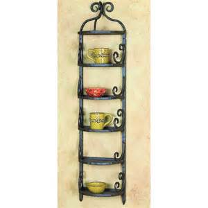 pictured here is the siena wall rack by toscana