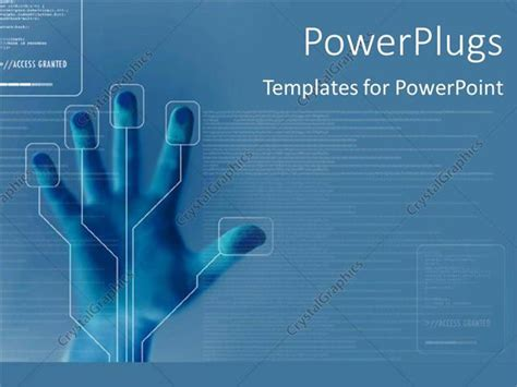powerpoint 2010 themes technology powerpoint template technology for finger printing