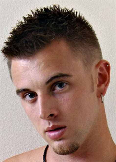 boy spike haircuts a short haircut with a spiked top on haircuts for men