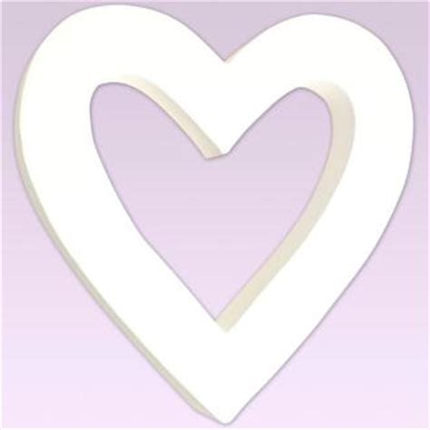 imagenes de corazones vacios gabarits de d 233 coupe coeurs shapetemplate pour shape cutter