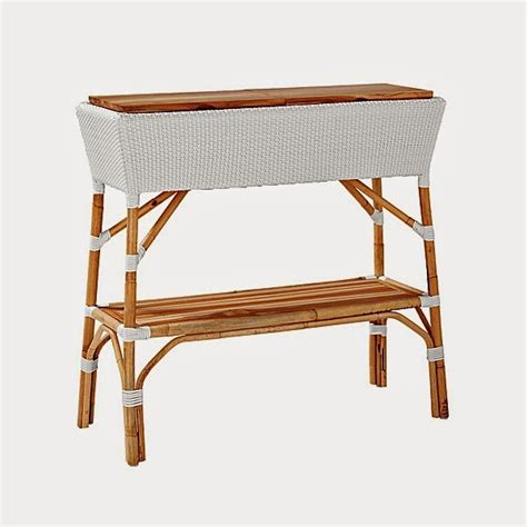 Outdoor Console Table With Storage View From My Heels Outdoor Console Table