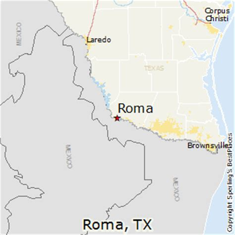 best places to live in roma texas