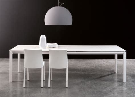 Large White Dining Table Bonaldo Chat Extending Dining Table Modern Extending Tables