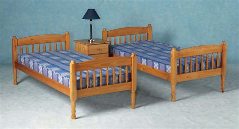 Albany Bunk Bed Albany Solid Pine Bunk Bed Splits Into 2 Single Bedframes