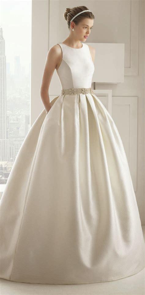 hochzeitskleid rosa clara rosa clara 2015 bridal collection belle the magazine