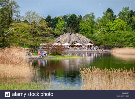 Britzer Garten Restaurant Am See by Architect Stock Photos Architect Stock