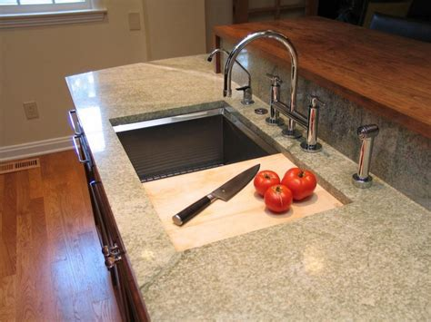 kitchen sink with cutting board kitchen broad ripple