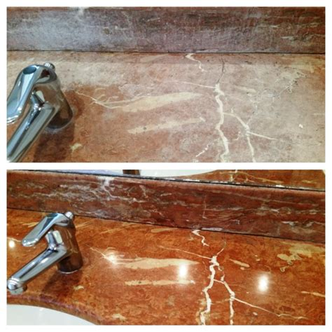 Marble Countertops Cleaning by Work History Central Tile Doctor