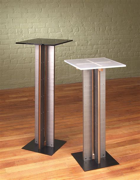 Design For Pedestal Side Table Ideas Columns Pedestals And Other Tables