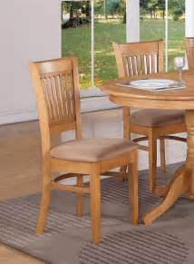 Kitchen Dining Furniture Set Of 4 Vancouver Dinette Kitchen Dining Chairs With Microfiber Upholstery Oak Ebay