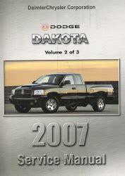 free car manuals to download 2007 dodge dakota auto manual 2007 dodge dakota nd service manual 3 volume set